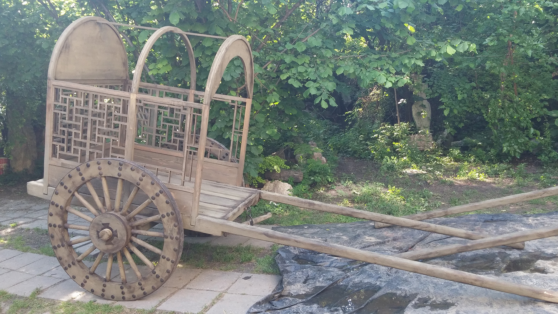 Marco Polo vehicles - movie production props, set decorations, vehicles by Epic Creations