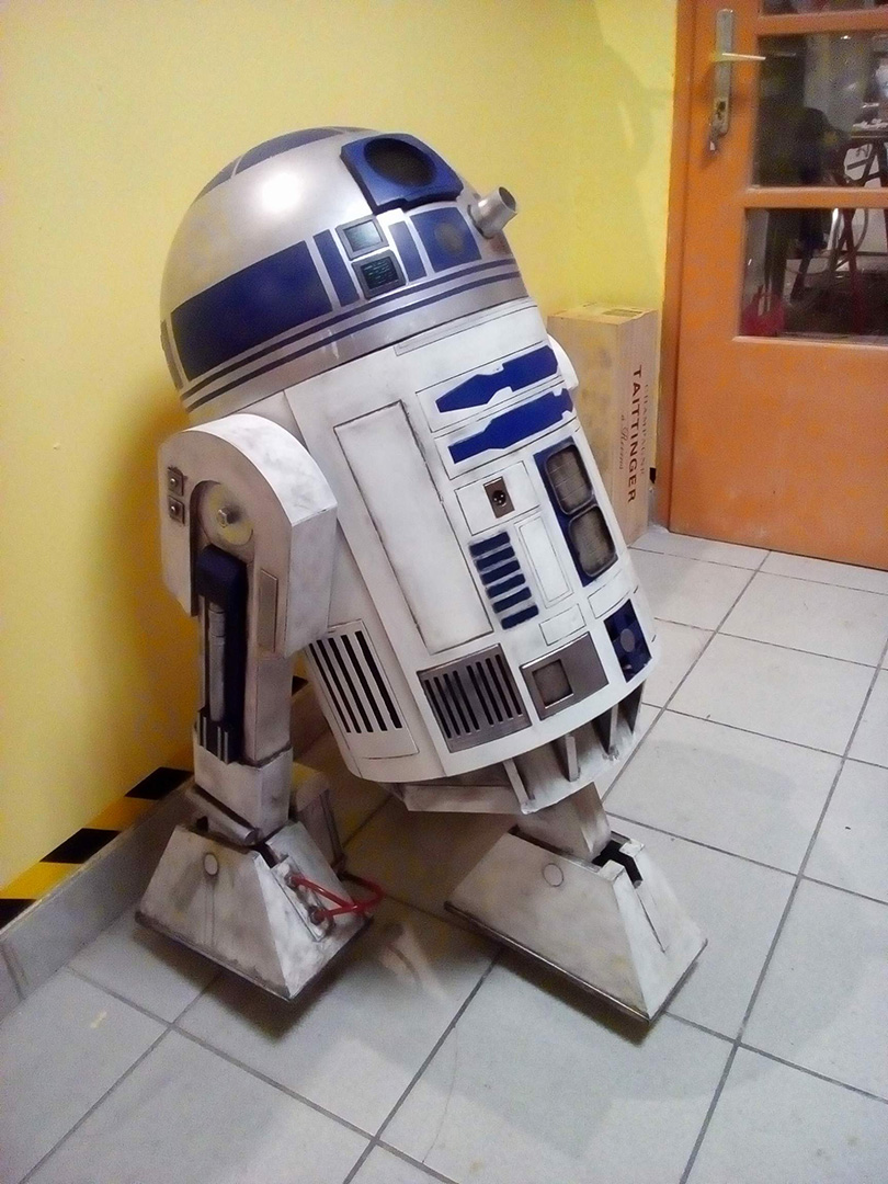 r2d2_ set decorations - movie production props, set decorations, vehicles by Epic Creations